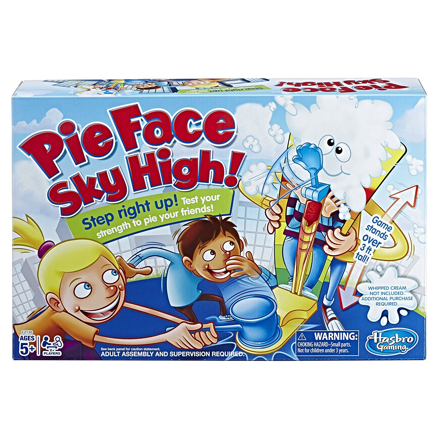 The Pie Face Sky High Game, From The Toy Fair, Check Out Our Review